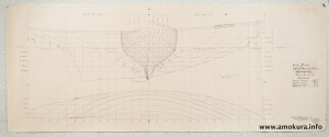 Lines plan (1939)