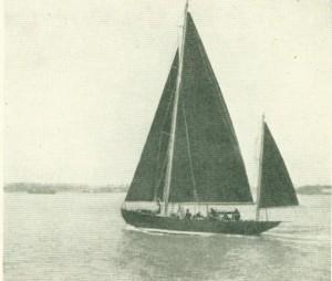 Amokura under Sail